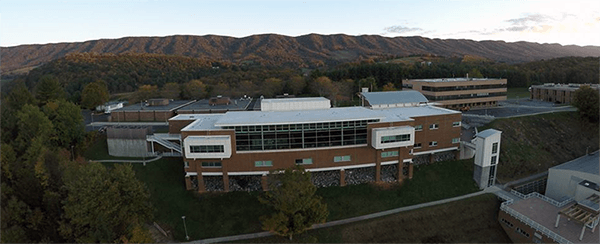 Southwest VA Community College Education Building on Campus