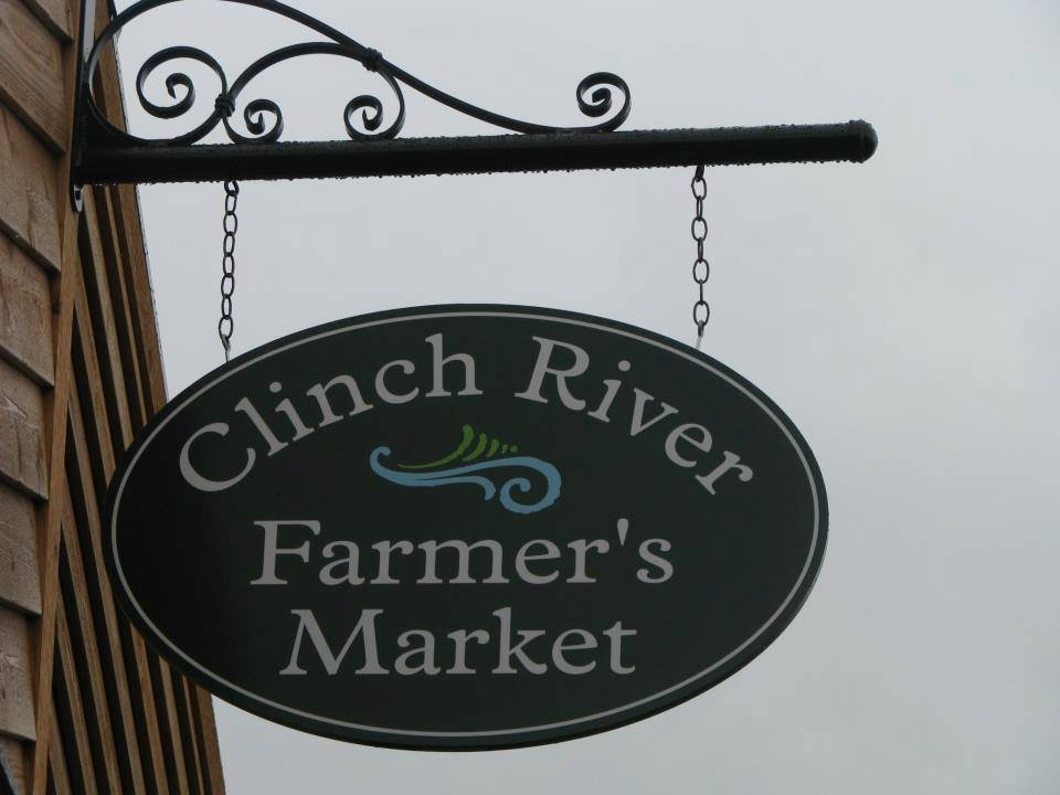 Clinch River Farmers Market Sign